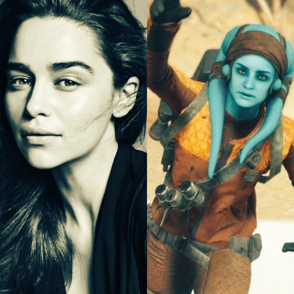 If Emilia Clarke isn&#39;t playing a Twi&#39;lek I&#39;m not entirely sure I&#39;m going to care about her #HanSolo character. We need some goddamn aliens. <br>http://pic.twitter.com/EVR4KbnyGv