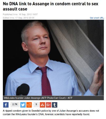 Do you realise how much you harm genuine rape victims when you applaud the use of faked evidence to frame #Assange?  http://www. heraldsun.com.au/news/missing-d na-evidence-in-assange-case/story-e6frf7jo-1226475431376 &nbsp; … <br>http://pic.twitter.com/WsLxaHNRon