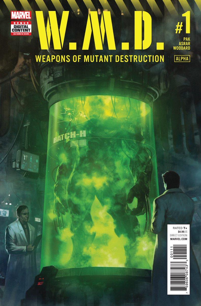 WEAPONS OF MUTANT DESTRUCTION ¡Ya disponible!    http:// azcomicses.blogspot.com/2017/06/weapon s-of-mutant-destruction-vol1.html &nbsp; …   #AzComicsEs #Up #MarvelNow #Hulk #Logan #Wolverine #Xmen<br>http://pic.twitter.com/kKVDPfaxlb