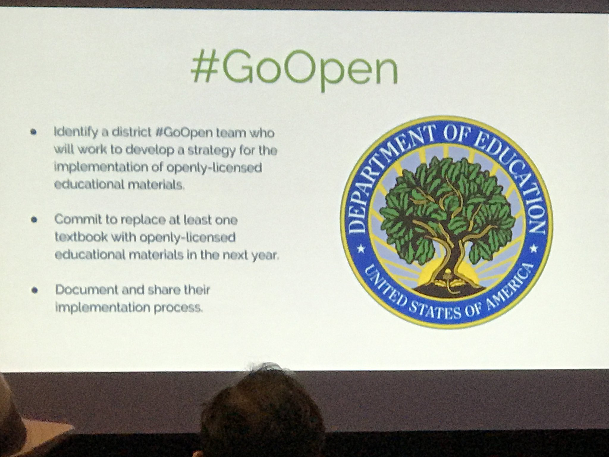 What was #GoOpen? @andycinek #ISTE17 https://t.co/3T0ZCFCx3A
