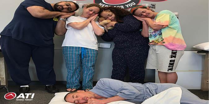 Enjoying a #pajama day at work! https://t.co/RibelM67vc