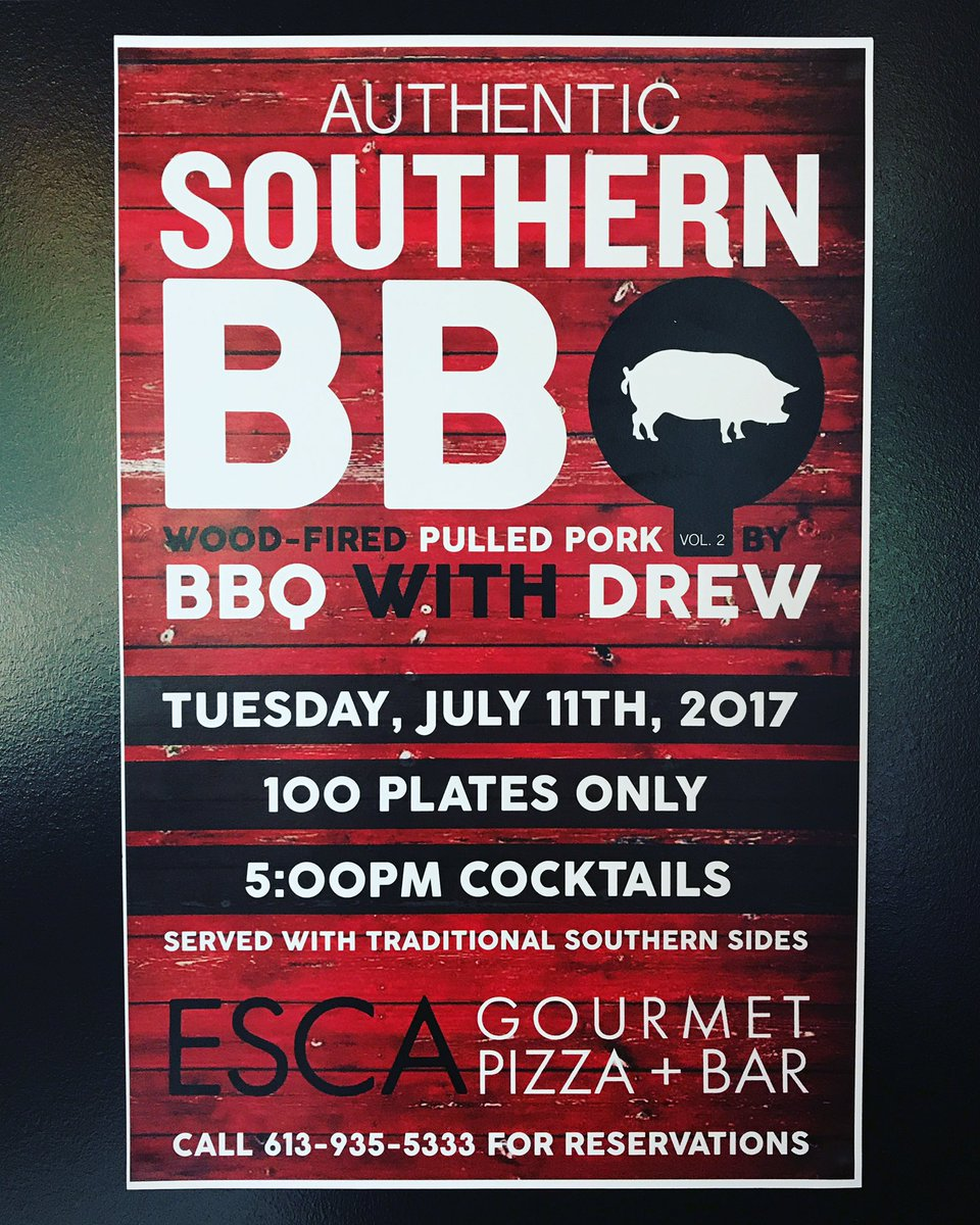 This is happening in two weeks and it&#39;s gonna be a blast... Reserve your spot soon! #bbq #local <br>http://pic.twitter.com/PQ3a2Rg8LJ
