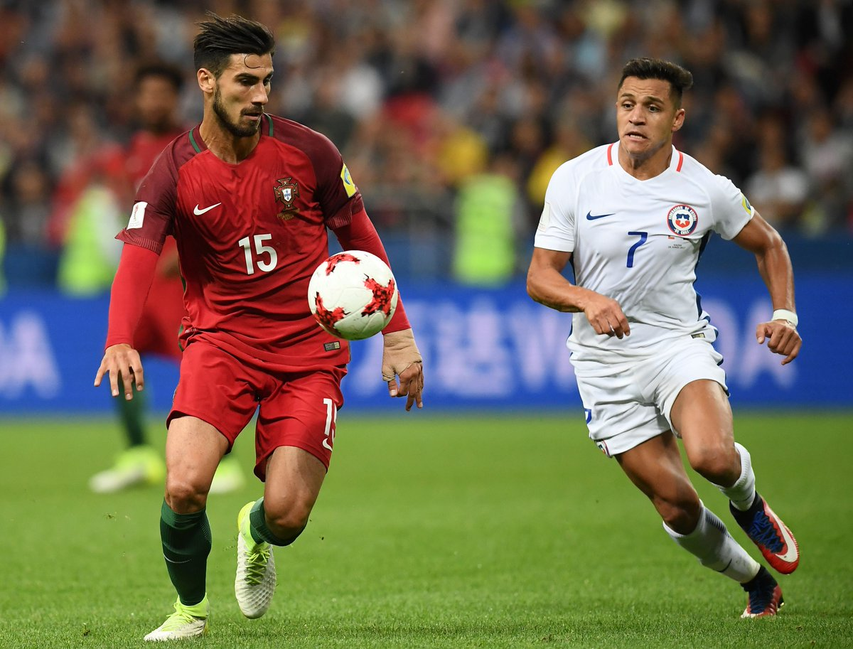 #LiveBolanet FT: Portugal 0-0 Chile | Possessions: 43%-57% | Shots: 13...
