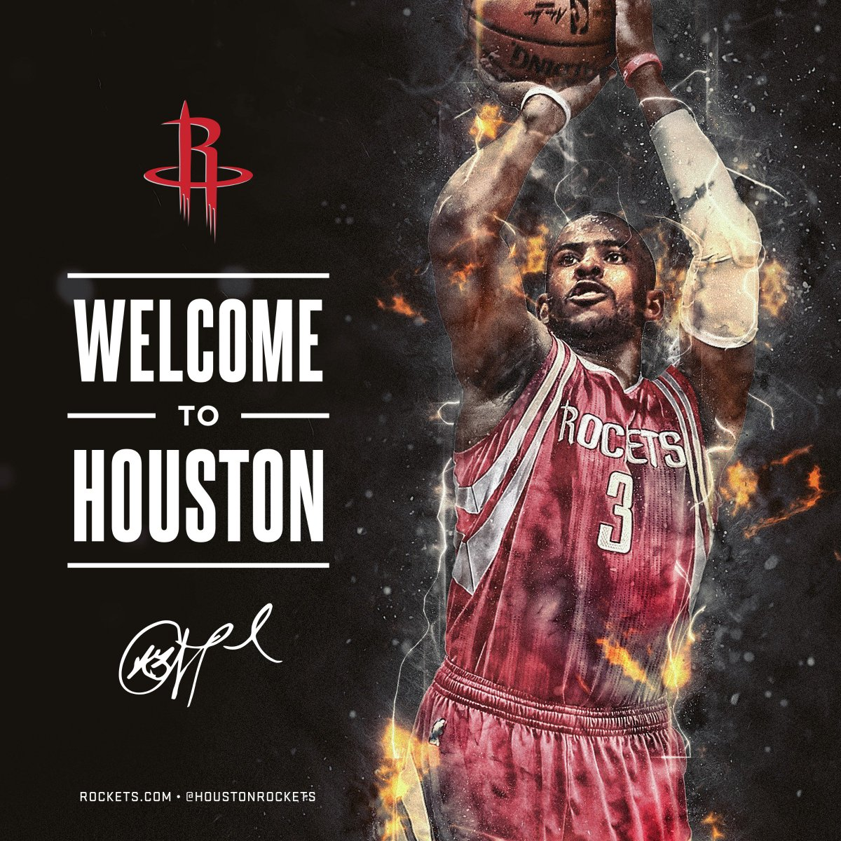 OFFICIAL: #Rockets Acquire 9-Time NBA All-Star @CP3! 🚀  Details » http...