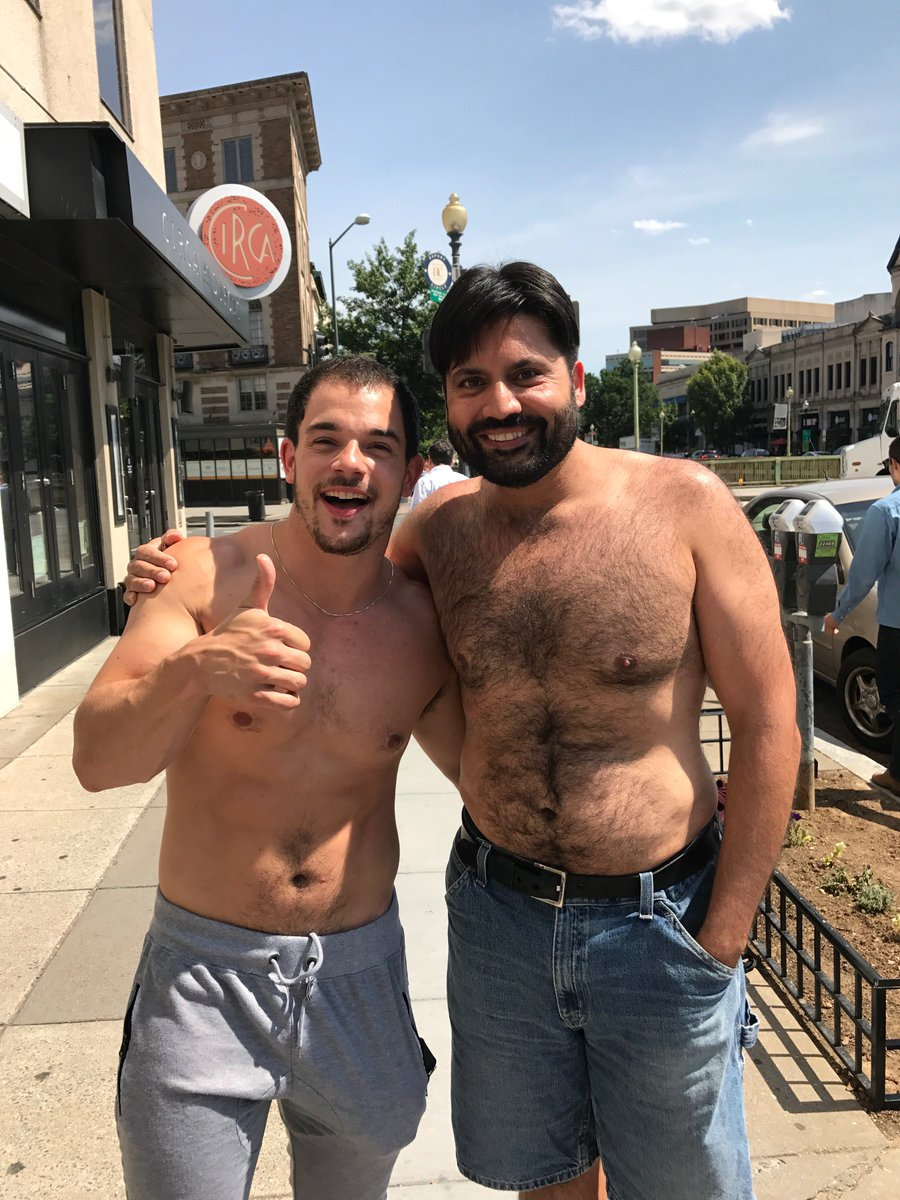 Two of America's top gays working the streets of D.C. #LGBTPrideMonth