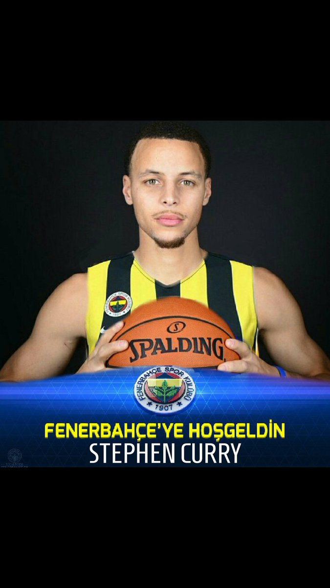 Fenerbahçe'ye Hoşgeldin Stephen Curry......