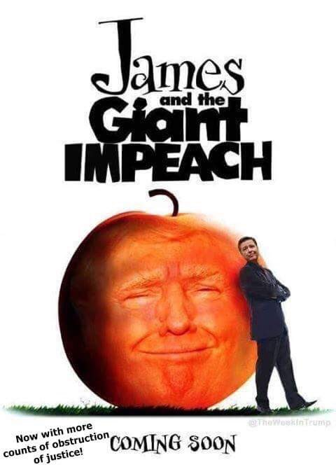 James And The Giant Impeach #TrumpBiographyTitles https://t.co/OuIQpa0...