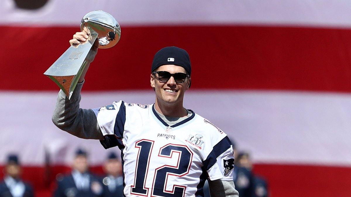 Tom Brady's selling more jerseys in Florida than Florida teams. https:...
