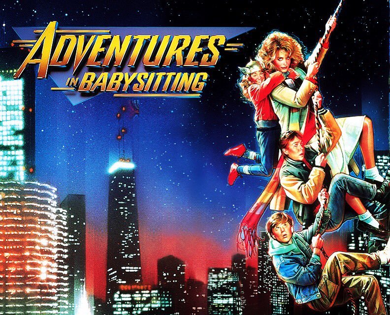 Adventures In Babysitting was filmed in #Chicago.   It was released in theaters 30 years ago, back on June 19, 1987.  #ChicagoHistory<br>http://pic.twitter.com/mxrv2YycdX