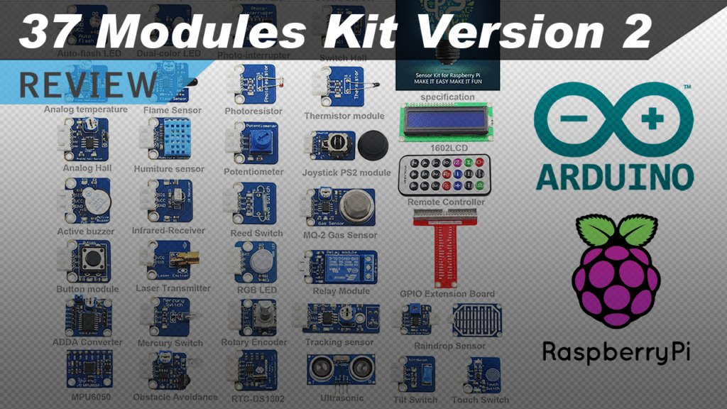 Video review of Sunfounder&#39;s 37 Sensors Kit (Version 2) for Raspberry Pi and Arduino  https:// youtu.be/8pJRs2G4wNE  &nbsp;   #raspberrypi #arduino #diy <br>http://pic.twitter.com/nsykXMJDRG