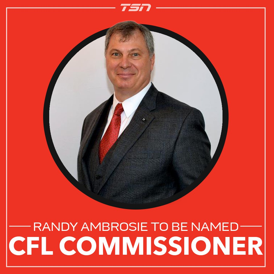 Randy Ambrosie is set to be named the new @CFL commissioner: https://t...