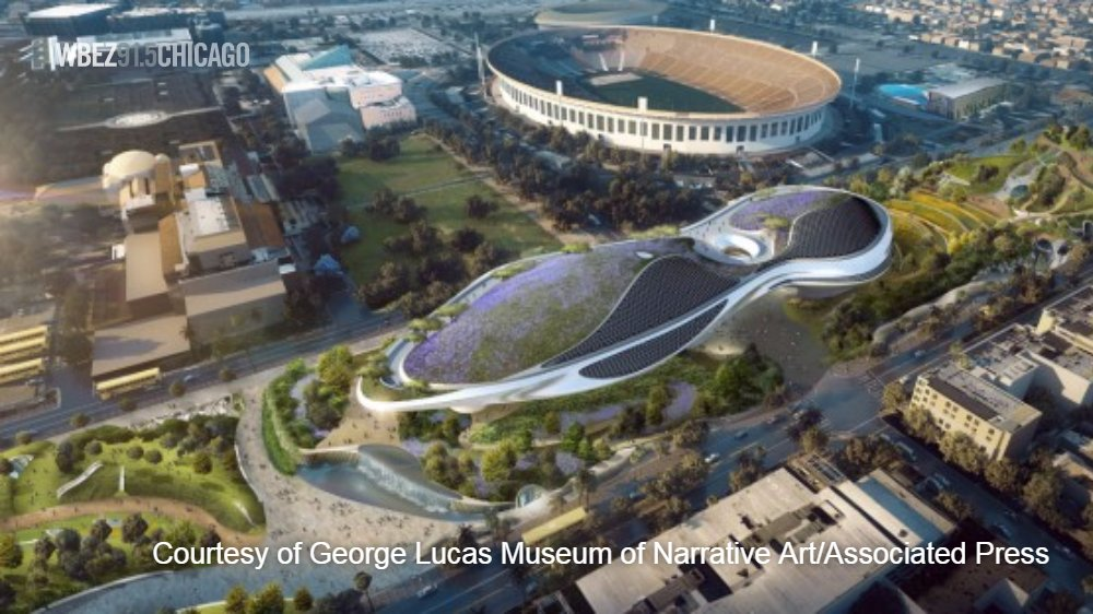 The LA city council OK'd plans yesterday for the George Lucas museum o...