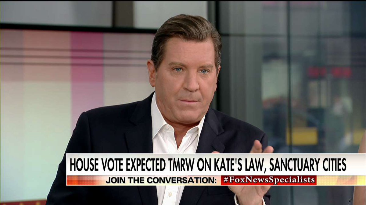 .@ericbolling on #KatesLaw: 'As a Democrat, can you against something...