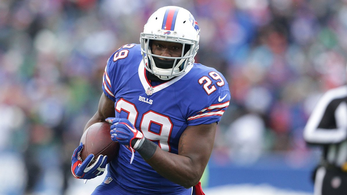 Report: Free agent RB Karlos Williams suspended at least a year by #NF...