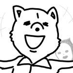 ヒマリブノオエカキ最後ハ自画像ニク(・∀・)!!マタ、ヒマナトキヲオ楽シミニ!!肉 pic.twit…