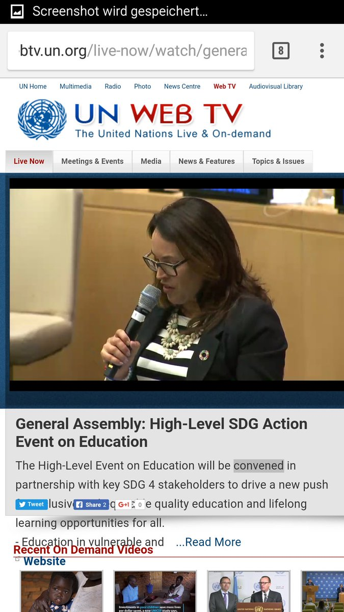 &quot;We&#39;re a grassroots movement, we recruit teachers, amplify their voices and communicate a call to action to #TeachSDGs.&quot; #SDG4Action #GCED<br>http://pic.twitter.com/SPCqiGDxdq
