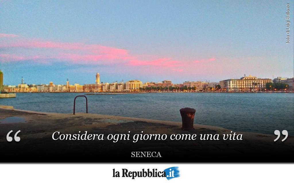 #BuongiornoPuglia da Bari. Mandateci la...