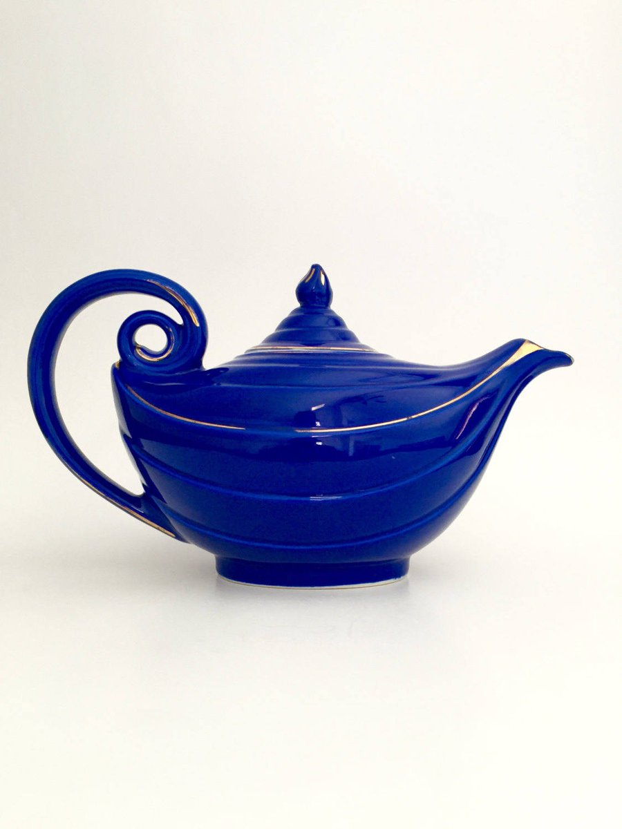Vintage Hall Aladdin Teapot; Hall Cobalt Blue Aladdin Teapot; Blue…  http:// etsy.me/2rwDBhg  &nbsp;   #Etsy #HallAladdinTeapot<br>http://pic.twitter.com/ispBcmufKr