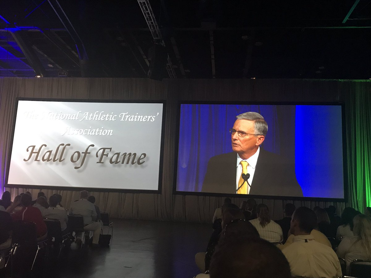 Congrats to Mike O&#39;Shea!!! #HOF #NATA2017 #ATC #The Best #HTownTakeover<br>http://pic.twitter.com/niEw1cCemb
