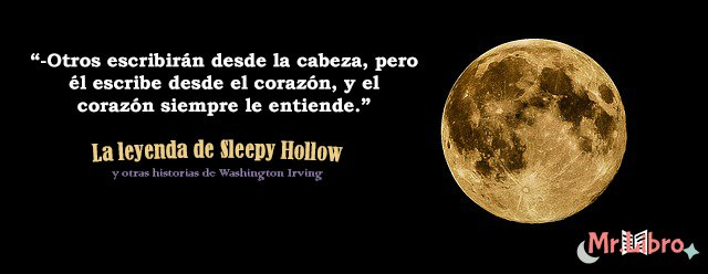 - La leyenda de Sleepy Hollow  #TardesDeFrases #Frases #FraseDelDía<br>http://pic.twitter.com/zwgvYZZ0G4