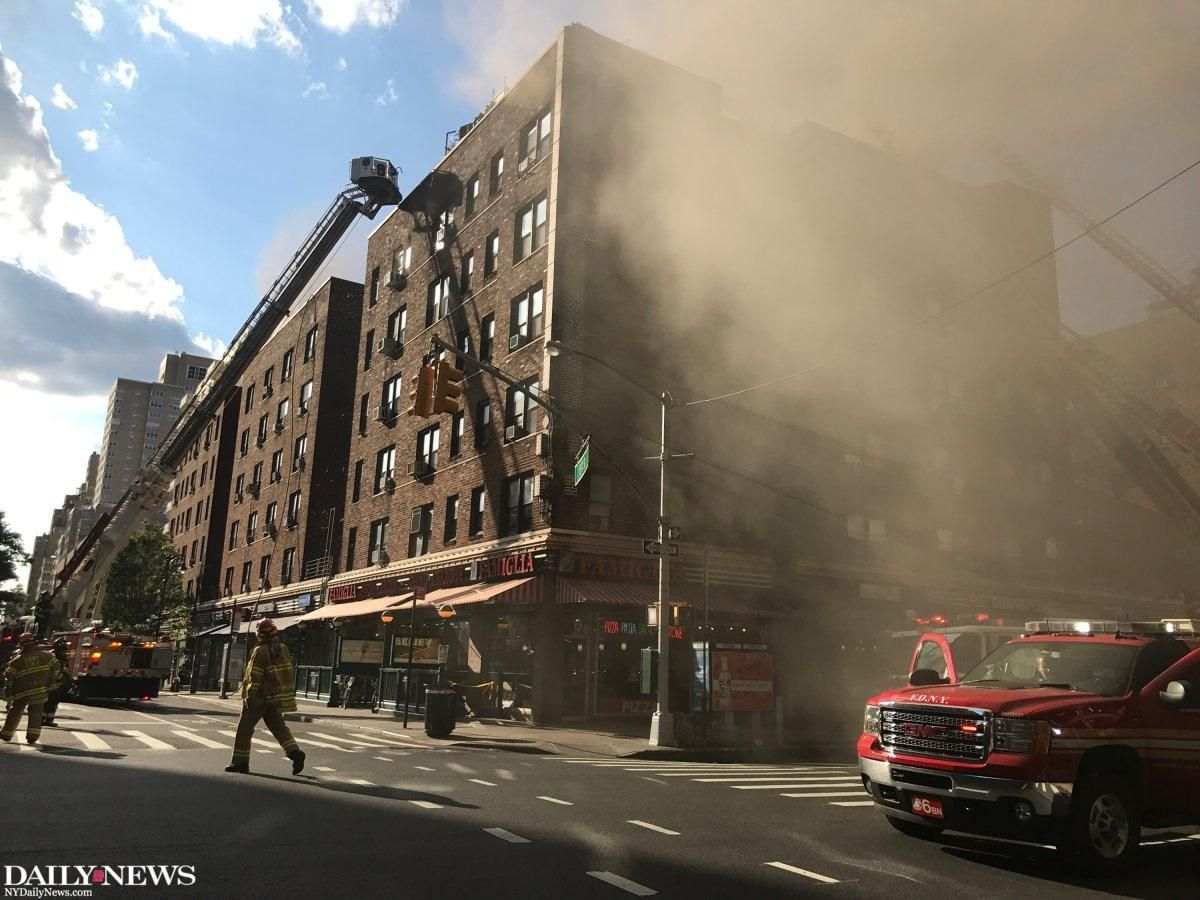 New York Daily News On Twitter Five Alarm Fire Breaks Out In