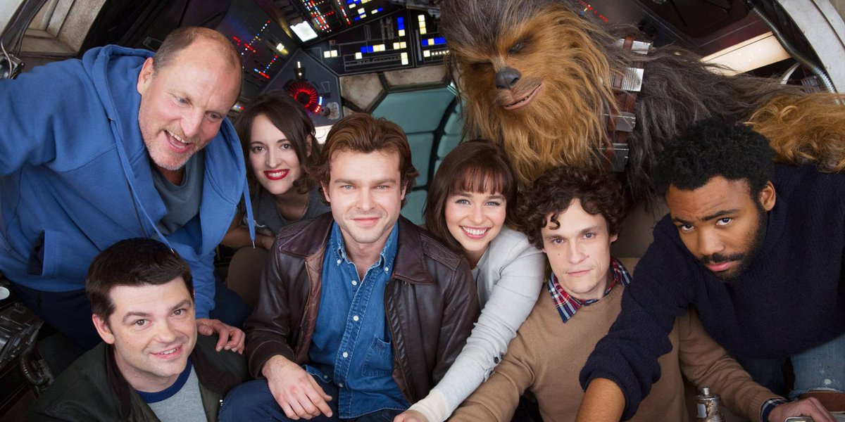 Disney Reportedly Loved #HanSolo Sizzle Reel  http:// cbr.st/AF4zPiR  &nbsp;  <br>http://pic.twitter.com/bR90GUIT73