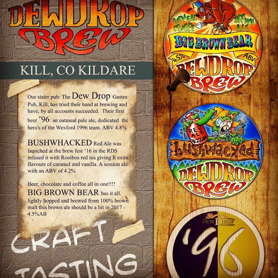 Great beer will be pouring all over @curraghrace @DDFRacing this #derbywknd   #local #craftbeer #streetfood @BeoirFinder @Lock13Sallins<br>http://pic.twitter.com/HdMUOIeqXp