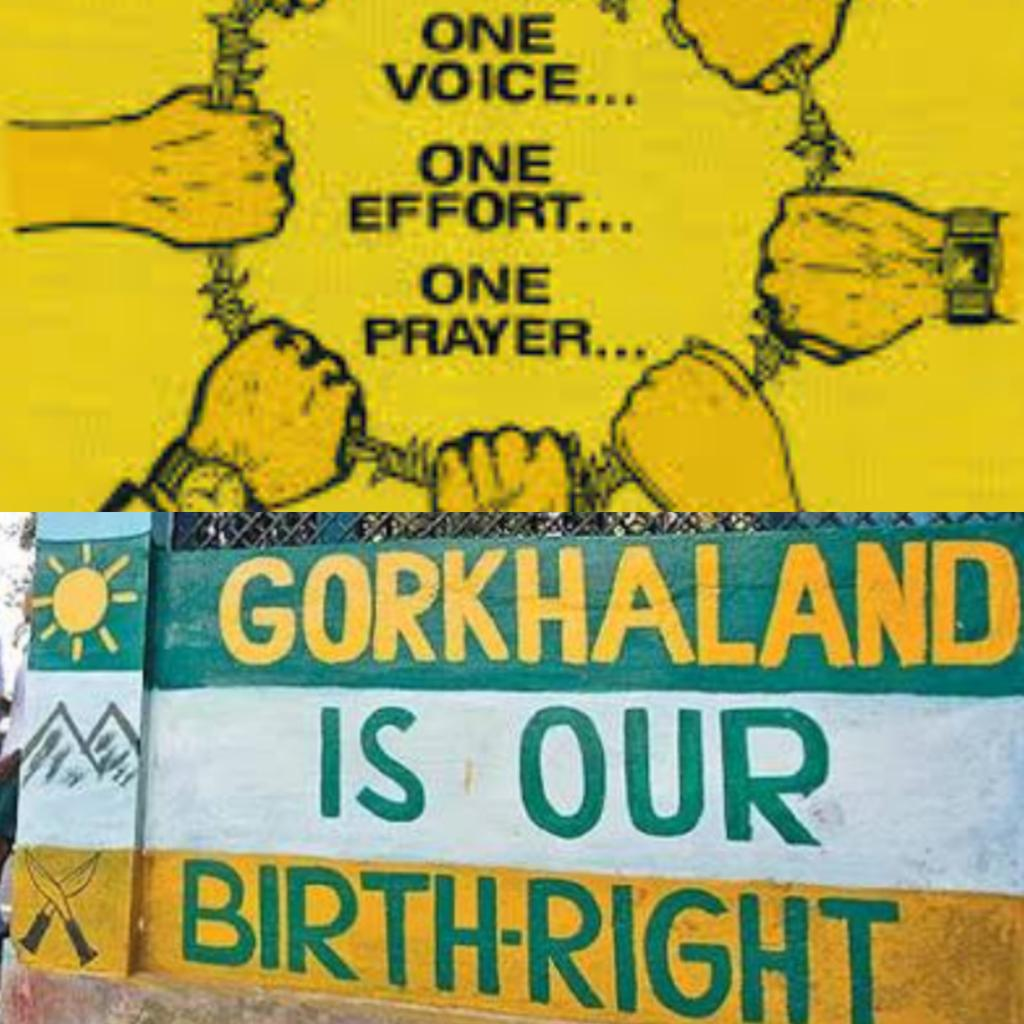 #Gorkhaland state in India, 110 years old demand of Gorkhas in India. Peace Protest still on at #JantarMantar. Hope #BJP live up to its word <br>http://pic.twitter.com/0OI9At7KNI