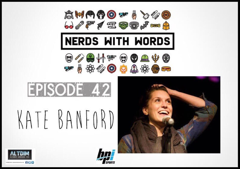 Give a listen to comedian @kbanf  http:// traffic.libsyn.com/nerdswithwords /Episode_42_-_Kate_Banford.mp3 &nbsp; …  #PodernFamily #comedy #podcast #trypod #theatre #interview #standupcomedy #Listen<br>http://pic.twitter.com/GKOd1A4Zbz