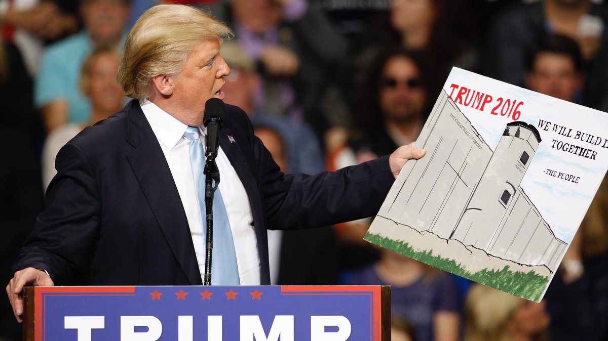 Who else can&#39;t wait for the #wall to start being constructed? It&#39;s going to be #bigleague, beautiful and will keep our country SECURE! #MAGA<br>http://pic.twitter.com/TPSW8caRgF