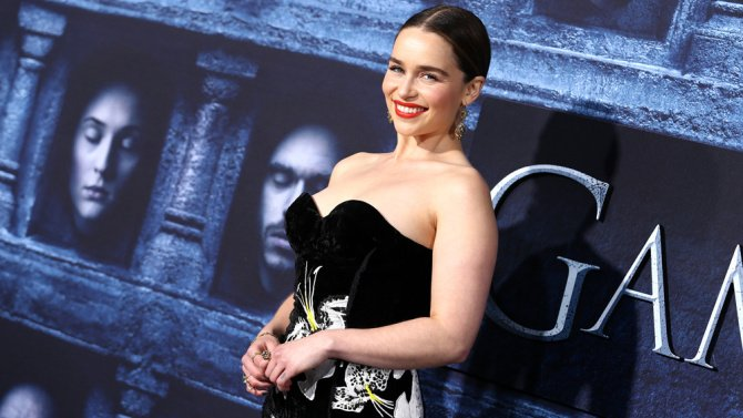 #GameOfThrones star Emilia Clarke compares sexism in Hollywood to raci...