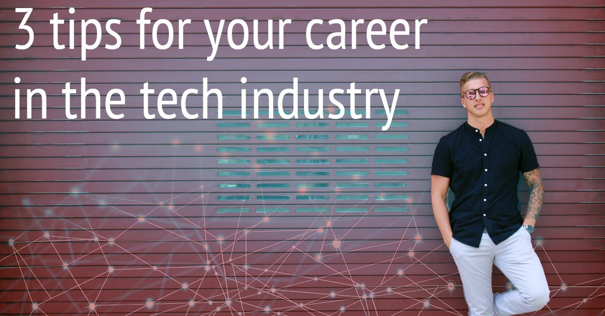 Looking to get into the tech industry? Our own Andy Johnson shares his 3 tips to boost your career!  #Tech #Blog  https:// goo.gl/sXXDA3  &nbsp;  <br>http://pic.twitter.com/8Z9xpmJ19S