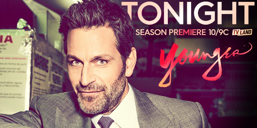 All eyes on Season 4 of #YoungerTV tonight 10/9C on @tvland . Can't wa...