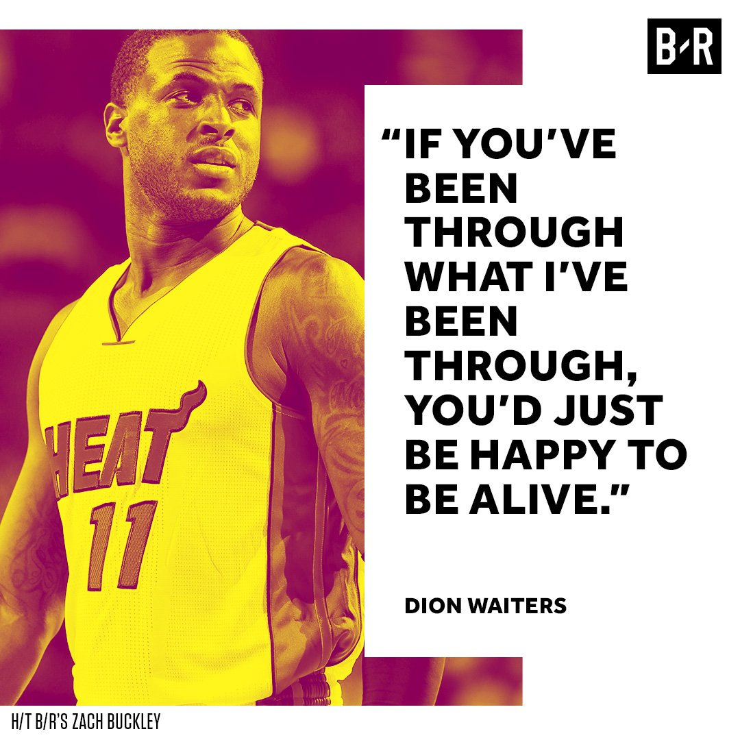 Dion Waiters had a tough childhood in Philly, but it's what made him w...