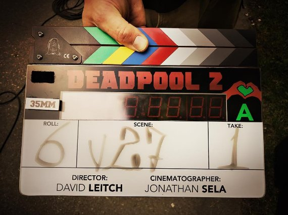#Deadpool2 production kicks off, #RyanReynolds shares first photo from...