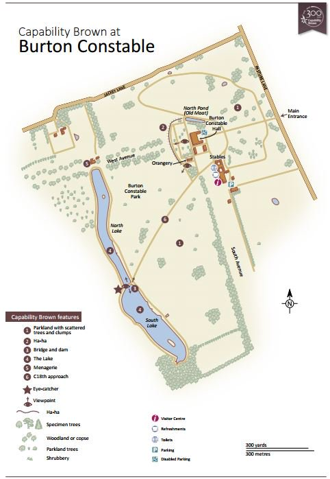 """From 1769 #CapabilityBrown worked @BurtonConstable """"beautifying... a place with most accurate neatness"""" More in #map  http:// bit.ly/2slkuG6  &nbsp;  <br>http://pic.twitter.com/vP1sUHIniV"""