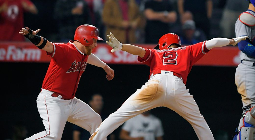 Angels walk-off Dodgers in dramatic fashion after late error after str...