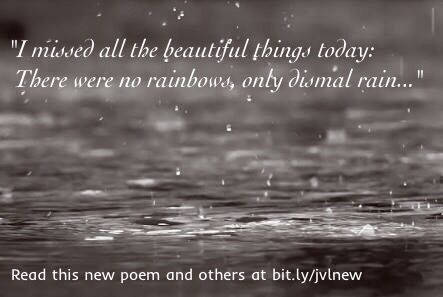 I Missed All The Beautiful Things Today.   New #poem.    #misery #true...