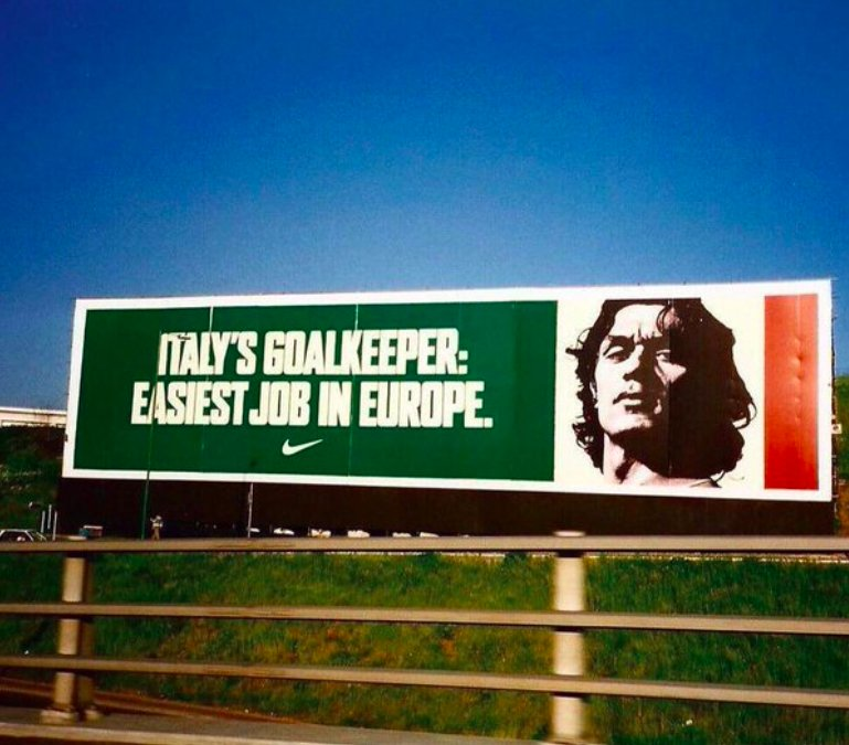 CLASS: @NikeFootball advert before Euro '96. 🇮🇹🏆  The legendary Paolo...