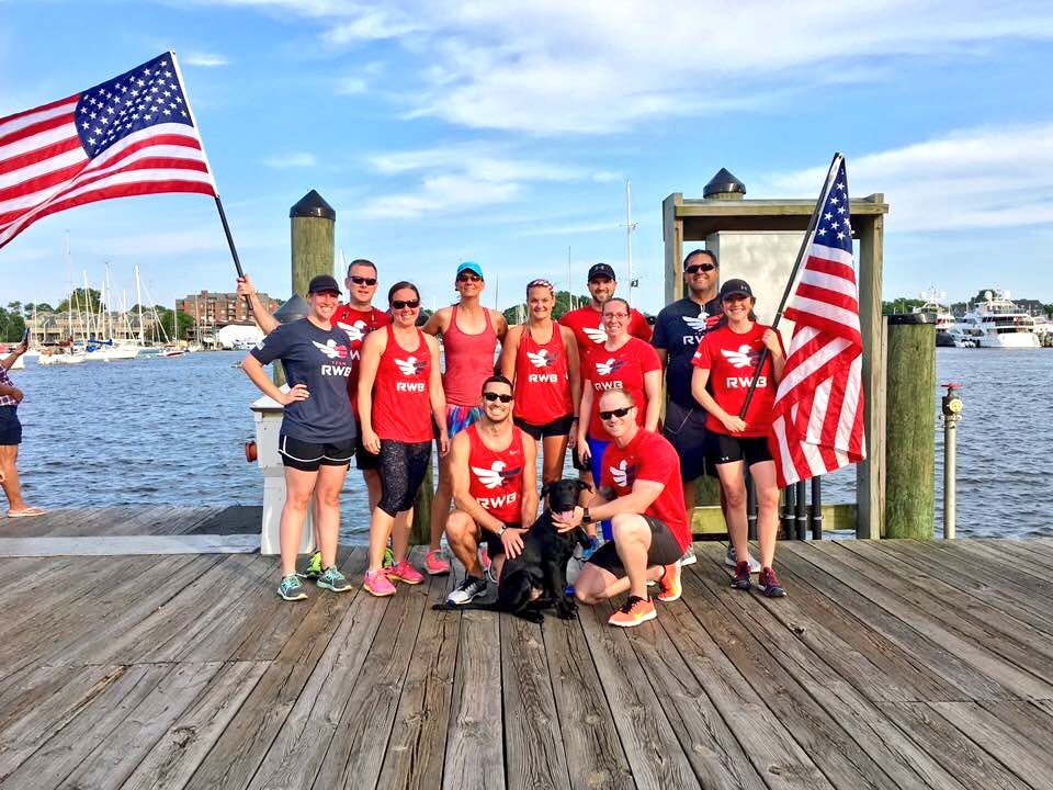 Gotta show some love for @TeamRWB #Annapolis...they know what #WearTheEagle Wednesday is all about! #community #BeatNavy #veterans #RWBoom<br>http://pic.twitter.com/NiLkZUkZ9m