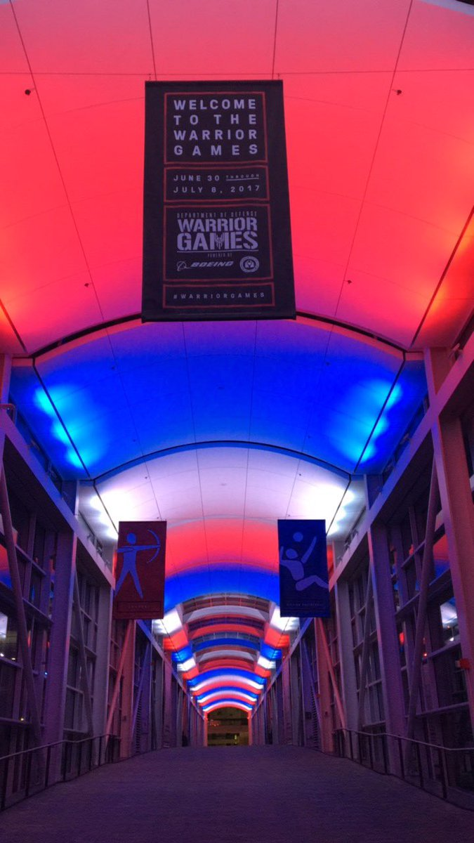 .@McCormick_Place is ready for the 2017 @DeptofDefense #WarriorGames ... are you, #Chicago? <br>http://pic.twitter.com/bgOv3wLVMm
