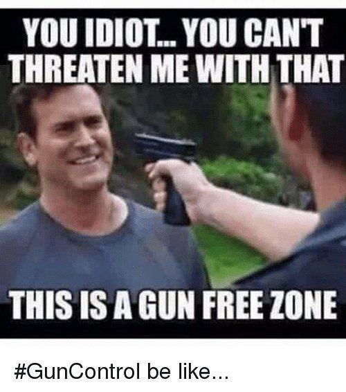 Alpha Dog Firearms On Twitter Gun Free Zone Guncontrol