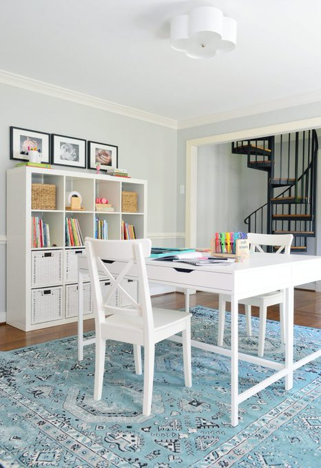 Easy Makeover: A Hardworking Homework Room