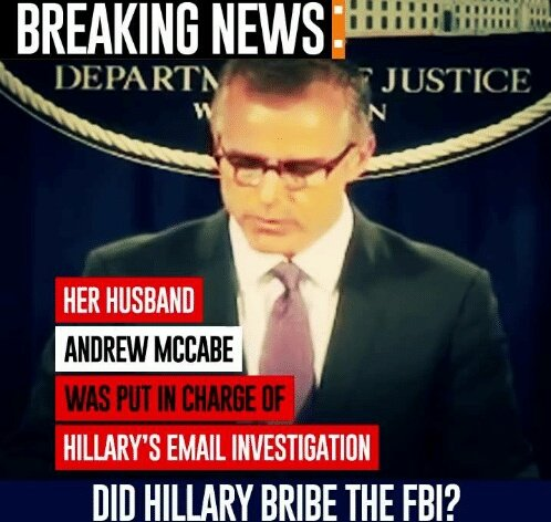 FBI McCabe faces 3 Fed inquiries! Wow you can&#39;t make this sh*t up! Bama, Comey, Lynch, Mueller, HRC all have big issues!  #Hannity #Tucker <br>http://pic.twitter.com/T1DVRhhbyP