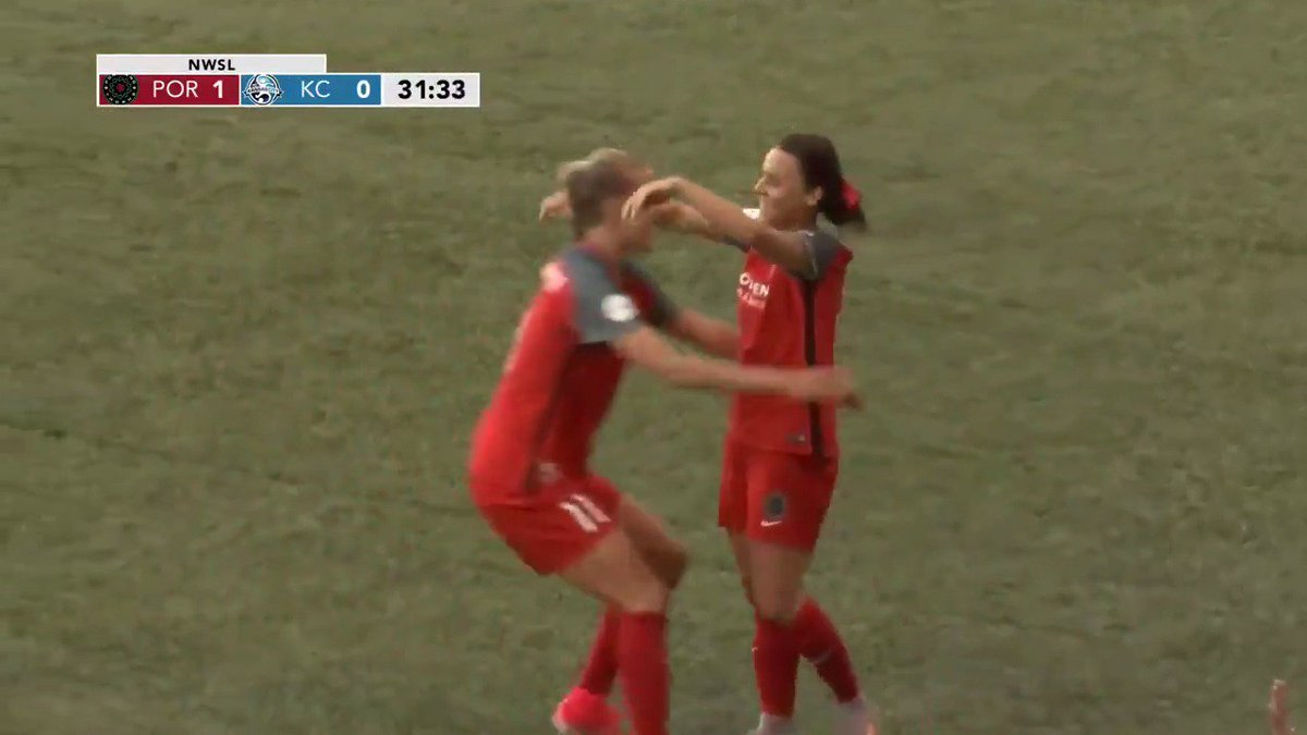 Not bad for your first @NWSL goal, @HayleyRaso.   Stream | https://t.c...