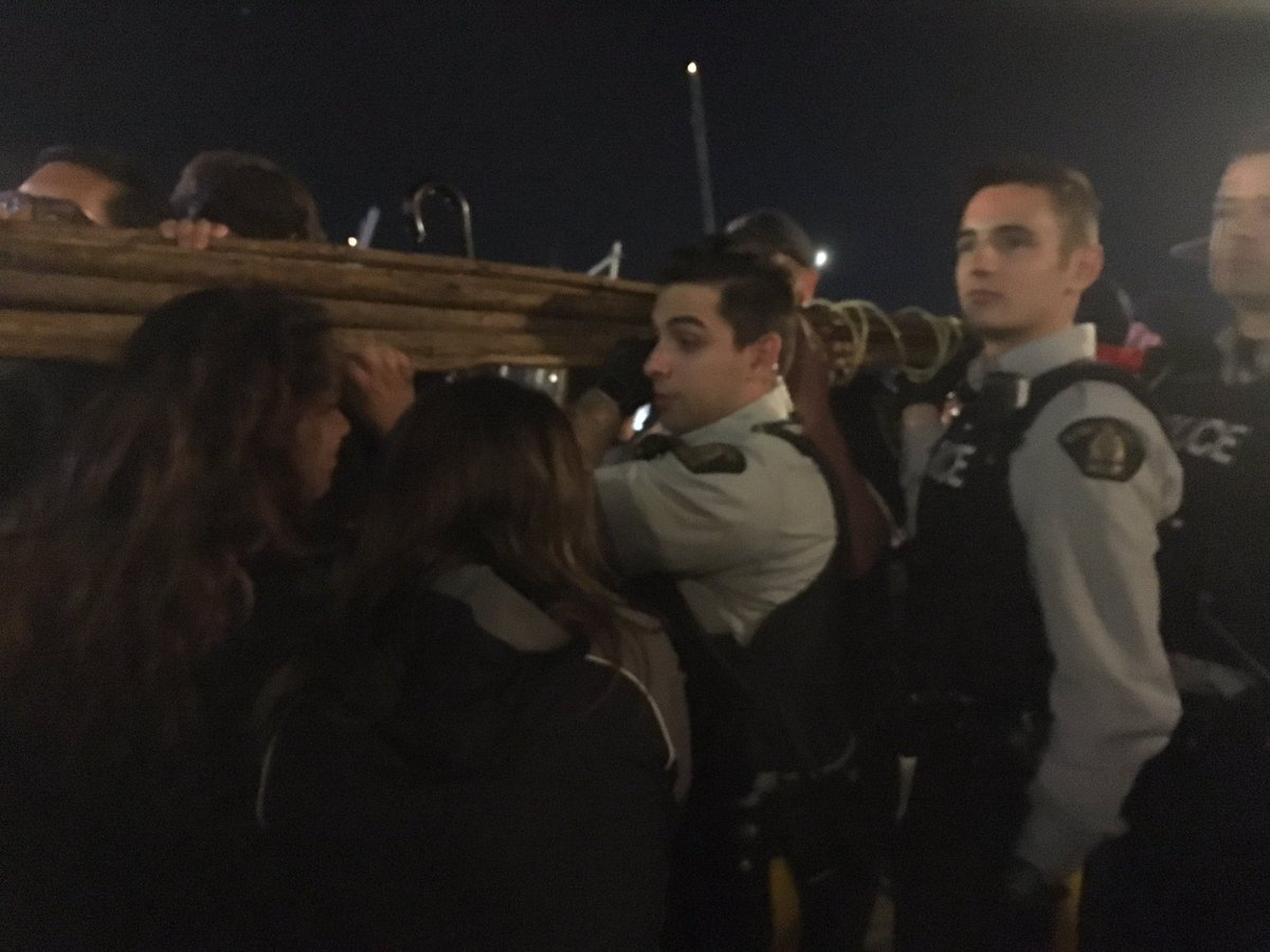 Protesters say people have been detained and arrested as they try to '...