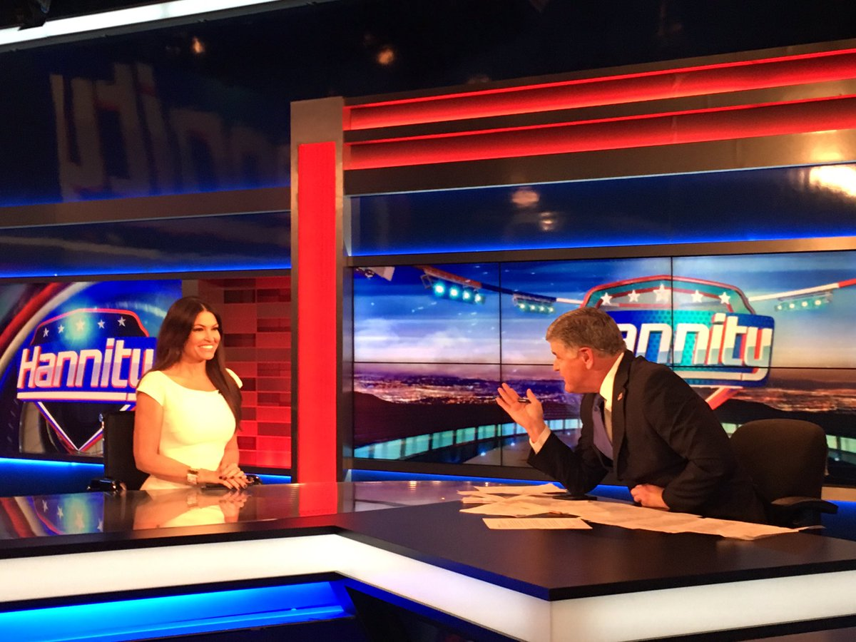 Great to be on #Hannity tonight! @FoxNews @seanhannity #MAGA <br>http://pic.twitter.com/Ylpi4RgPv5