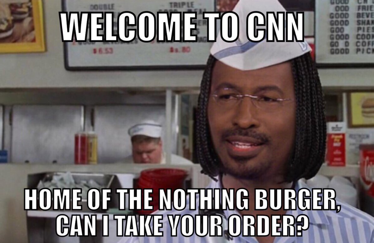 &quot;Would you like an extra side of lies to go with your nothing burger @cnn?&quot;  #CNNISFAKENEWS @CSteven @KLSouth @Mr_Pinko @BigFurHat #Russia <br>http://pic.twitter.com/nSuStE77nq