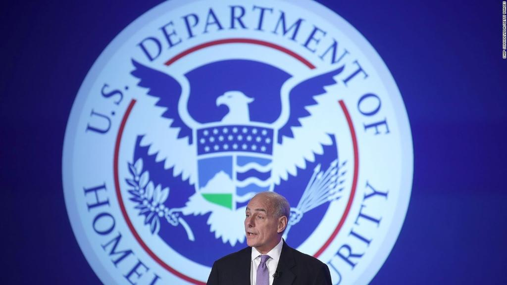 The Department of Homeland Security announces new aviation security me...