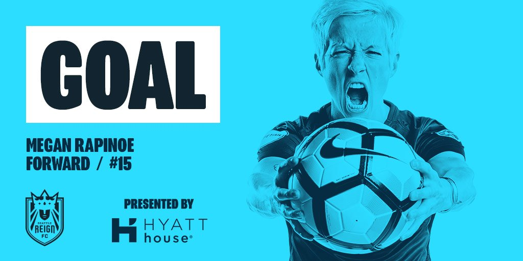 58' RAPINOE. EQUALIZER. Rapinoe steps up to the spot and slams home th...